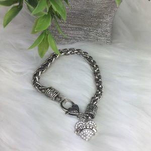 "Bracelet - Heart ""NURSE"" Charm"